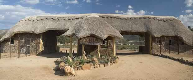Entrance to Aquila Game reserve